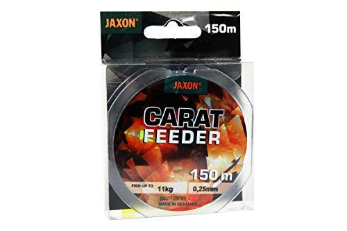 Jaxon Angelschnur Carat Feeder 150m Spule Feederschnur (0,25mm / 12kg)