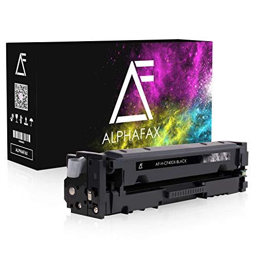 Alphafax Toner kompatibel mit HP CF400X für HP Laserjet Pro MFP M277dw, Laserjet Pro MFP M277n, Laserjet Pro M252dw, Laserjet Pro M250 Series - 201X - Schwarz 2.800 Seiten