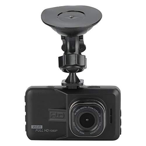 VbestLIFE 1080p HD-videocamera, draaibare actiecamera met 124 graden met groothoeklens 3,0-inch LCD-scherm met microfoon, geïntegreerde audio voor de auto.