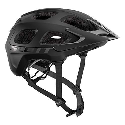 Scott 275205 - Casco de Bicicleta Unisex para Adulto, Color Negro, Talla M