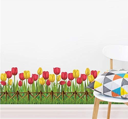 Hehilark Belle Plume Forme Sticker Mural Maison Chambre Salon 3D Miroir Surface Mur Autocollants D/écoratifs