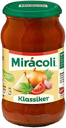 MIRÁCOLI Pasta Sauce Klassiker, 6 Gläser (6 x 400g)
