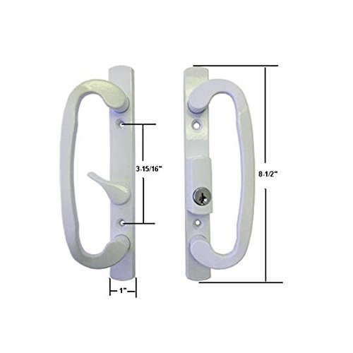 sliding patio door lock with key - 4
