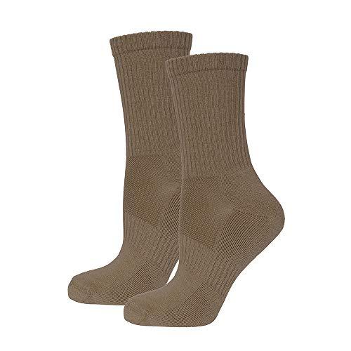 Safersox Mückenschutz-Socken, 39/42, Mokka
