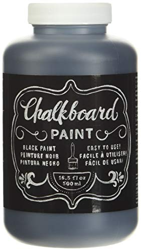 DIY Shop Chalkboard Paint by American Crafts | 16.2 ounces, Black (366867)