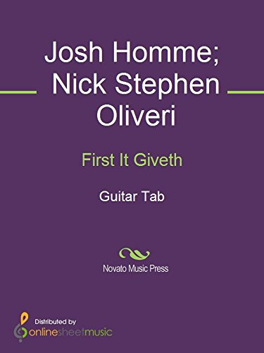 First It Giveth (English Edition)