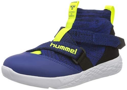 Hummel Terrafly Knit Jr, Zapatillas Altas Unisex Adulto, Azul (Mazarine Blue 7956), 38 EU