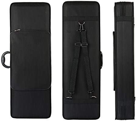 4 4 Full Size Violin Case FINO Professional Oblong Violin Hard Case with Built in Hygrometer product image