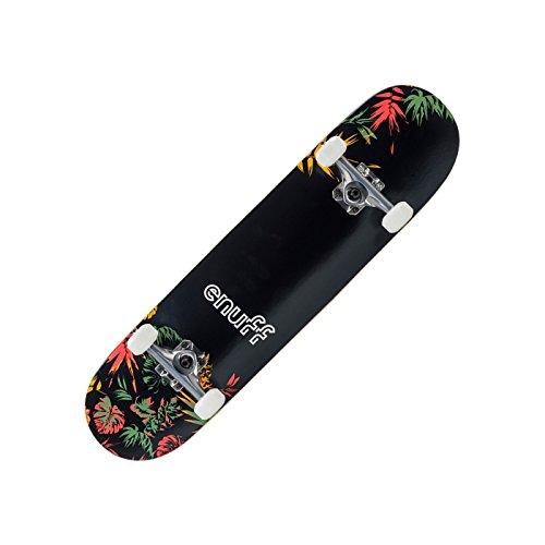 ENUFF Floral Skateboard Complete schwarz-orange schwarz-orange, standard