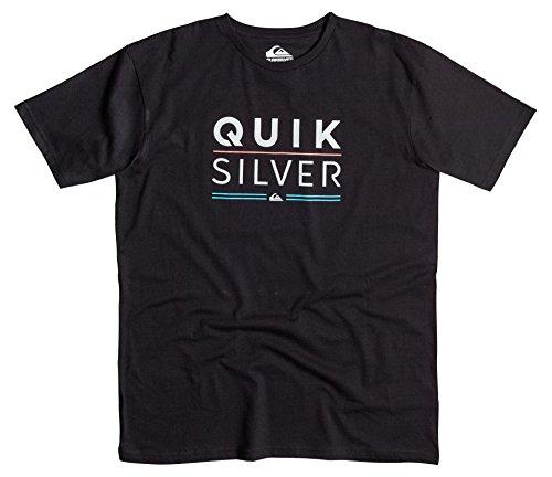 Quiksilver Clastefulsta T-Shirt Homme, Noir, FR (Taille Fabricant : XL)