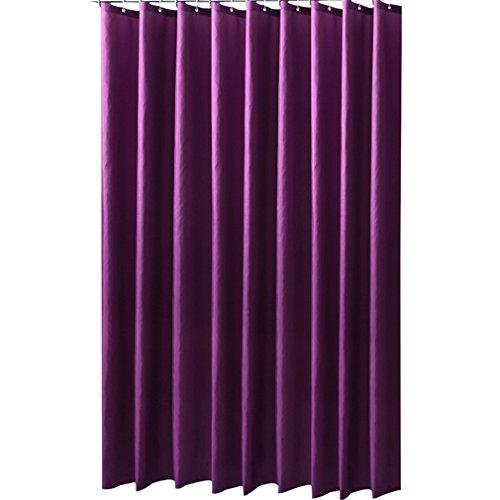 Eanshome Violett Dekorative Anti-Schimmel Textilien Polyester Wasserabweisend Duschvorhang 240x200