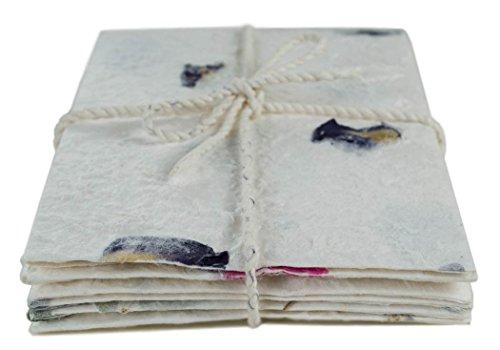 Öko-Petal Umschlag und Briefpapier Blumenmix Regular - Stück pro Packung 6 (12cm x 18cm)