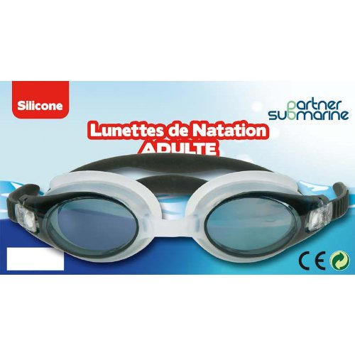 Partner Jouet - A1200511 - Jeu de Plein Air - Lunettes de natation adulte - Coloris aléatoire