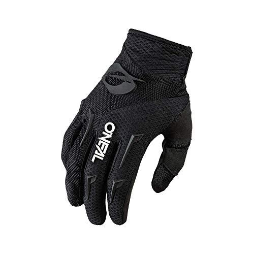 O'NEAL | Fahrrad- & Motocross-Handschuhe | MX MTB DH FR Downhill Freeride | Langlebige, Flexible Materialien, belüftete Handinnenfäche | Element Glove | Frauen | Schwarz Weiß | Größe XL