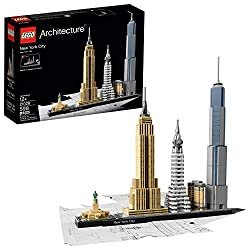 cheap Lego Architecture New York City 21028 Skyline New York City Adult Model Kit …