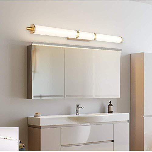 Muurverlichting Vanity tube verlichting badkamerspiegel voorkant lampen waterdichte anti-condens-make-up wandkast huishouden toilet schijnwerper acryl + metalen wandplaat