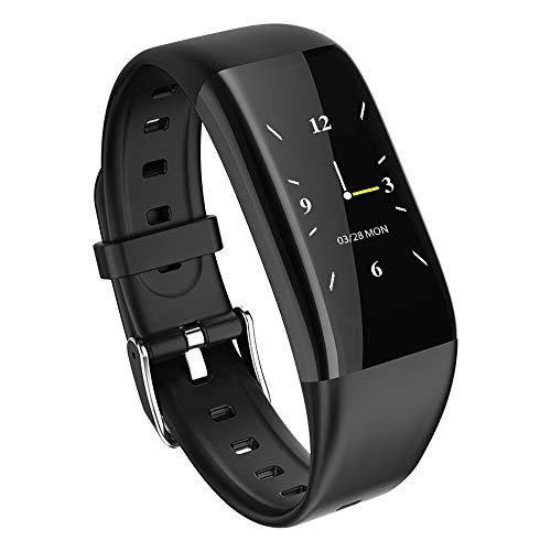 Xiao huang li horloge fitnessarmband/horloge met hartslagmeter/bloeddrukmeter/stappenteller/waterdicht/USB Power/zwart, rood, blauw