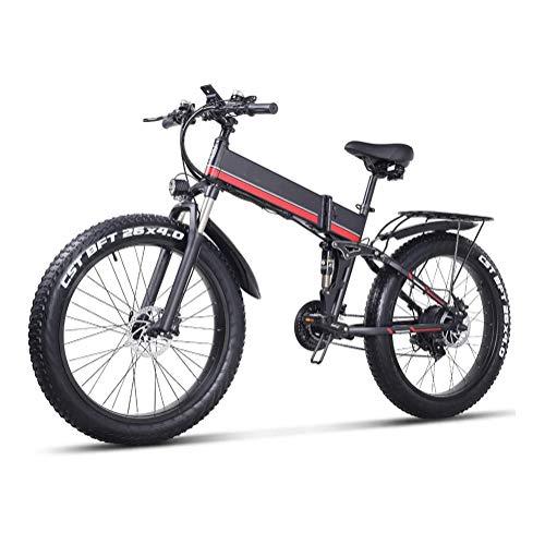 TypeBuilt 26 Pulgadas Neumático Gordo Bicicleta Eléctrica 21 Velocidades 26 Pulgadas Fat...