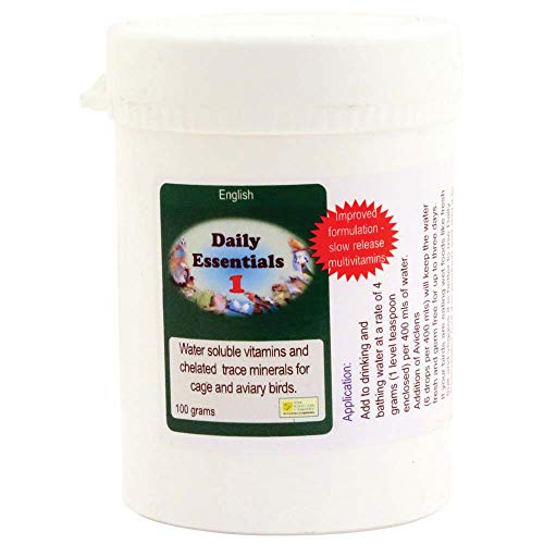 Garden Feathers Daily Essentials 1 Soluble Multi-Vitamins for Parrots - 100g