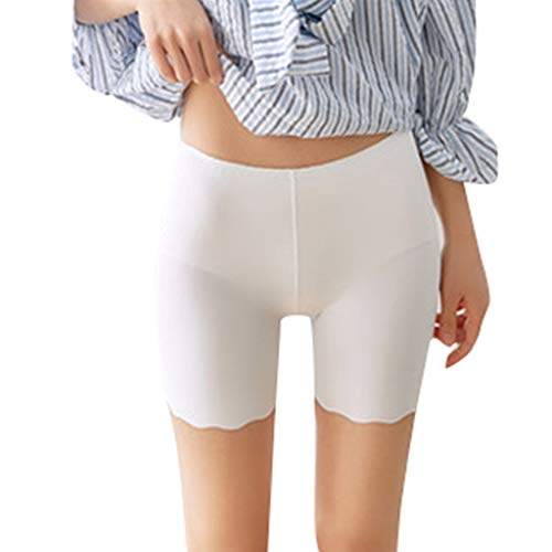 Auiyut Damen Seamless Unterhose Short Tight Boxershorts Kurze Leggings Boyshort Nahtlose Unterhosen Elastan Bikini Slips Weich Elastisch Leicht Shapewear