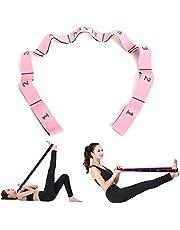 Loop Oefening Bands Kinderen Volwassen Latin Bands 15-20 kg Expander Pilates Yoga Stretch Weerstandsbanden Fitness Elastisch Crossfit Dans Trainingsbanden Gymnastiek Workout