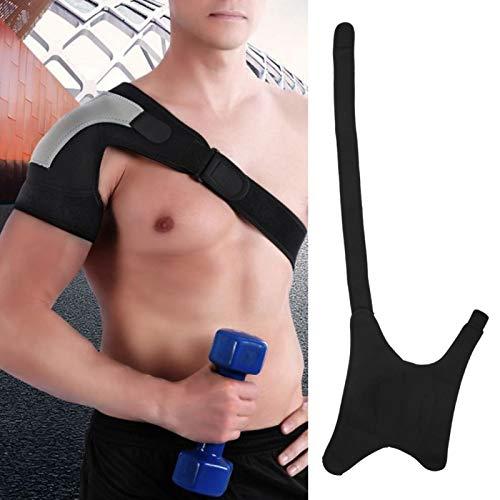 Schulterstütze, Atmungsaktives Sportbandage Schulterpolster Universell verstellbarer rechter Arm zur Prävention von Verletzungen Stabilisator Ärmelwickel, zur Schulterentlastung, Rotatorenmanschette u