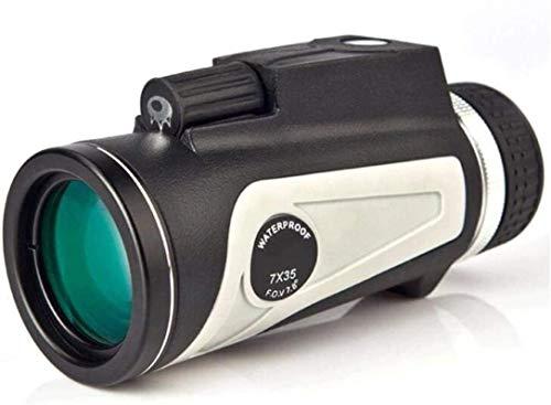 Pkfinrd 7x35 High Power HD telescoop met kompas meetbare afstand hoge vergroting HD waterdicht outdoor reizen eenvoudig dragen voor vissen kamperen en wandelen