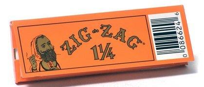 Zig Zag Orange Rolling Papers 1 1/4 - 5 Packs