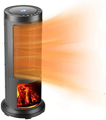 OVASTLKUY 1500W Ceramic Tower Space Max 69% OFF Oscillation Portable Heater Sale special price