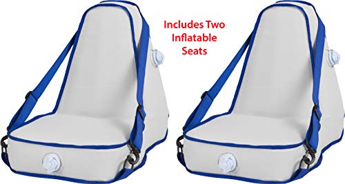 Sea Eagle Deluxe Inflatable Kayak Seat Set of 2 Seats