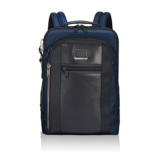 Tumi Alpha Bravo - Davis Laptop Backpack 15' Rucksack, 42 cm, 11.87 L, Navy