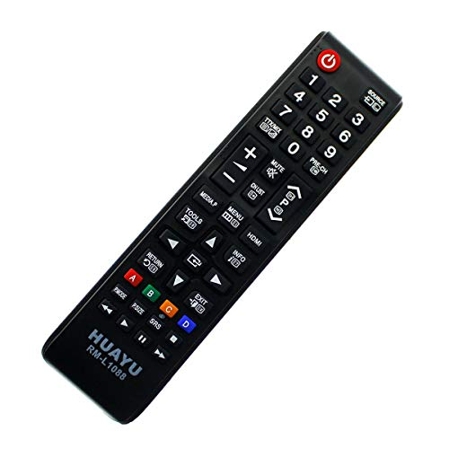 Ersatz Fernbedienung Samsung LED LCD 3D UE28J4100 / UE28J4100AWXXH Remote Control - afstandsbediening, télécommande, Kumanda, Plug & Play