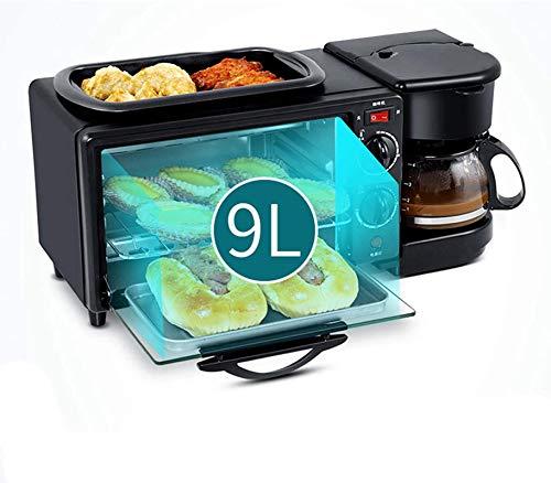3 en 1 Máquina de desayuno Panadería eléctrica Panadería Asada Asada Asada...