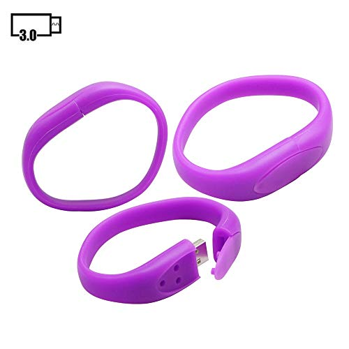 8GB braccialetto usb flash drive usb 3.0 modello stick usb pen drive usb 3.0 microdrive u disco flash disk usb disco memory stick usb di memoria flash usb flash drive usb disco usb 3.0 - Purple