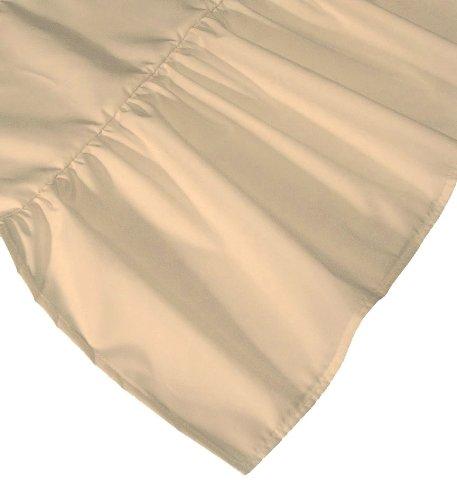"Dust Mite- and Allergen-Proof Bedskirt; ""Premium Microfiber"" (Queen; 'Natural' Cream Color)"