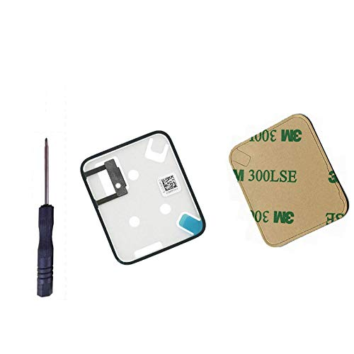 oGoDeal Force Touch Sensor Gasket with Rear Case Housing Adhesive Strips Waterproof Tape Glue Replacement for Apple Watch (1st Generation) and Series 1 Repair 42MM