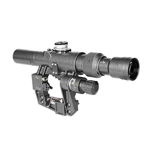 Sniper SVD Dragunov Rifle Scope SVD3-9x24 FFP First Focal Plane Sniper Hunting Riflescope Illuminated Rangefinding Reticle (SVD 3-9X24)