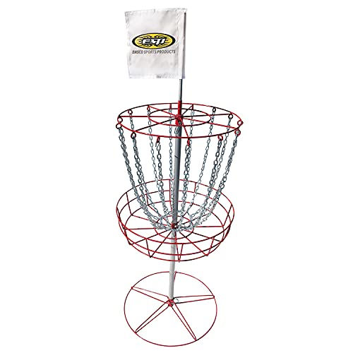 Emsco Group ESP Disc Golf Portable Target Stand with Metal Stand