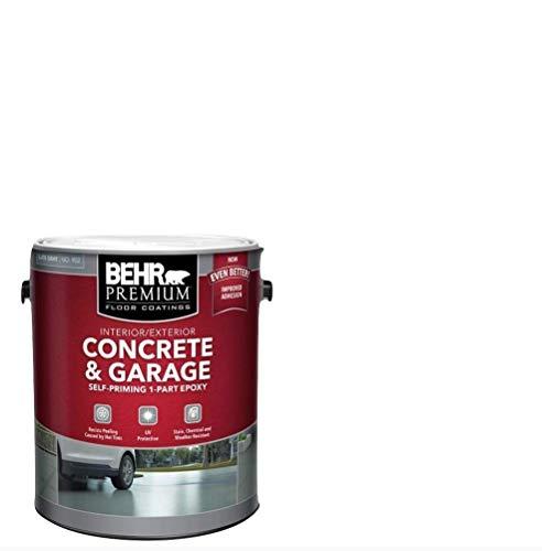 1 gal. Slate Gray Self-Priming 1-Part Epoxy Satin Interior/Exterior Concrete and Garage Floor Paint