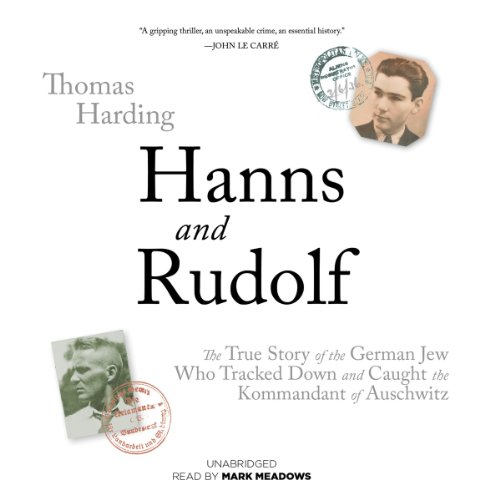 Hanns and Rudolf audiobook cover art