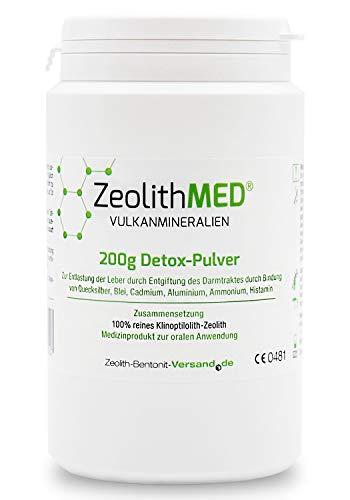 Zeolita MED 200g Polvos desintoxicantes