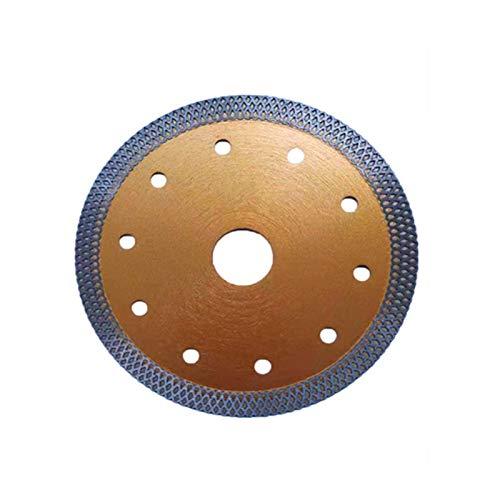 Disco Tronzador de Diamante 125mm Disco de corte para azulejos y baldosas con 22,23 mm de diámetro Sierra para Porcelana Azulejos Cerámica Mármol,Naranja