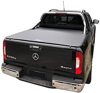 Tuff Tonneaus Mercedes X-Class Dual Cab Genuine No Drill Clip On Tonneau Cover (Suits Factory Sports Bars)