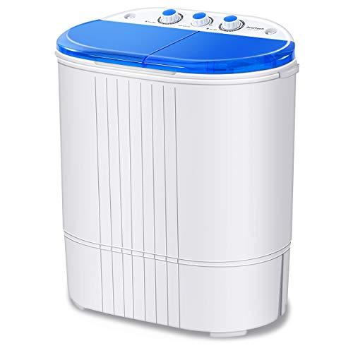Auertech Mini Washing Machine, 20lbs Portable Twin...