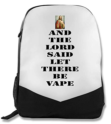 and The Lord Said Let There Be Vape Christus Rucksack