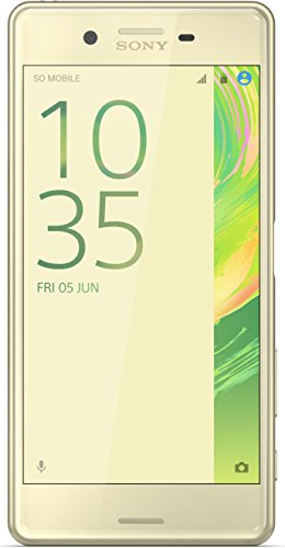 Sony Xperia X Performance (12,7 cm (5 Zoll) FHD IPS-Display, Interner Speicher 32 GB, Android) lime-gold