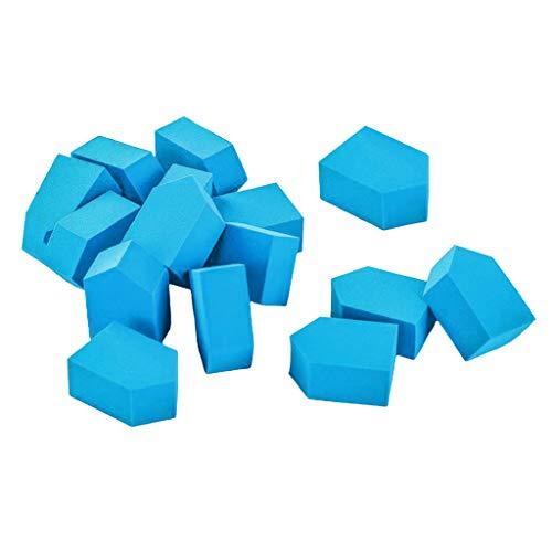 harayaa 15x Beauty Makeup Wedge Sponge Set - Bleu