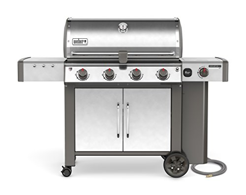 cheap Weber 67004001, 4 burners, stainless steel