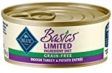 Blue Buffalo Basics Limited Ingredient Cat Food - Indoor Turkey & Potato - 5.5...