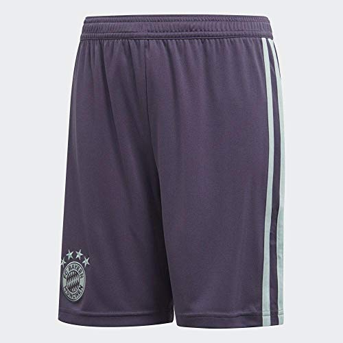 adidas Unisex Kinder FC Bayern München Away 2018/2019 Shorts, pink, 176